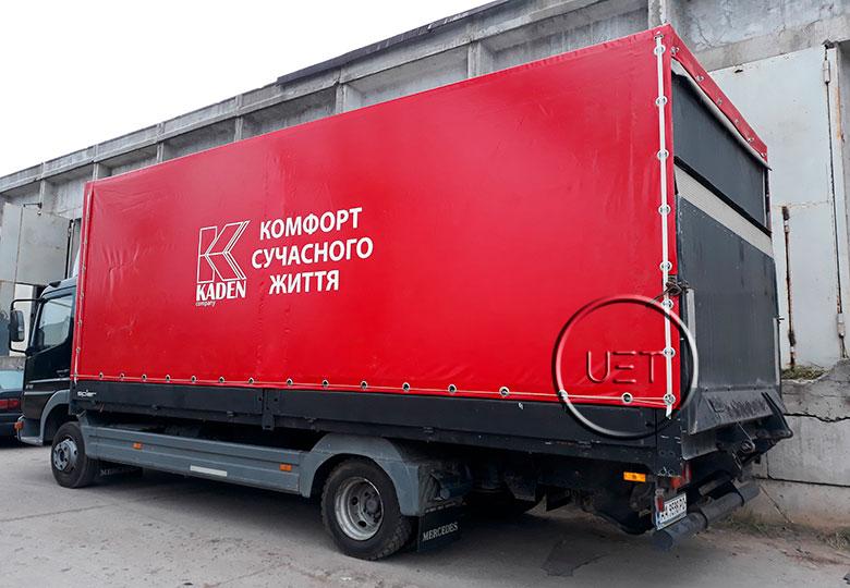 Тент на грузовое авто8